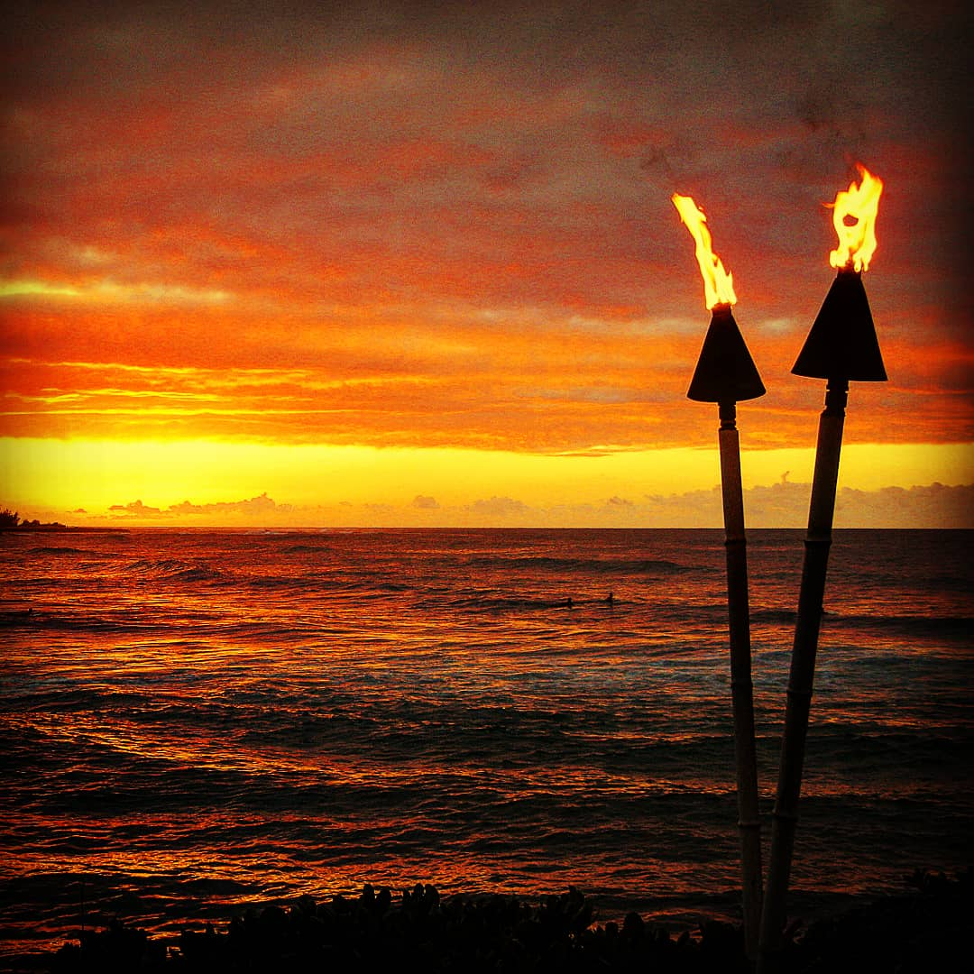 Torch Lightning Ceremony, Hawaii